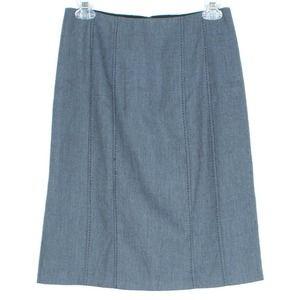 Rebecca Taylor Womens Skirt Pencil Blue 2 JA